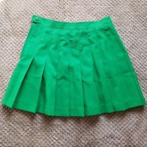 Pleated Sports Skirt